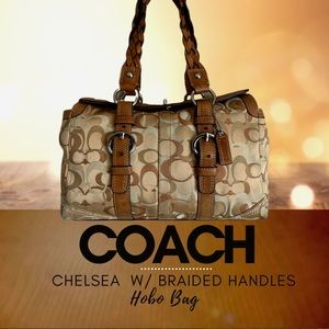 COACH CHELSEA WITH BRAIDED HANDLES